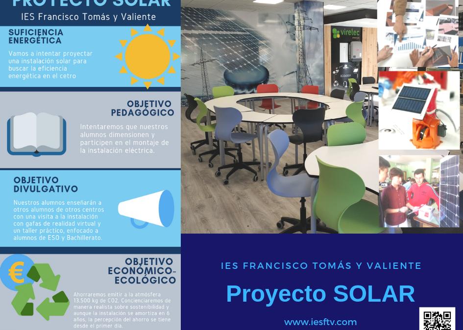 Puesta en marcha del Proyecto Solar