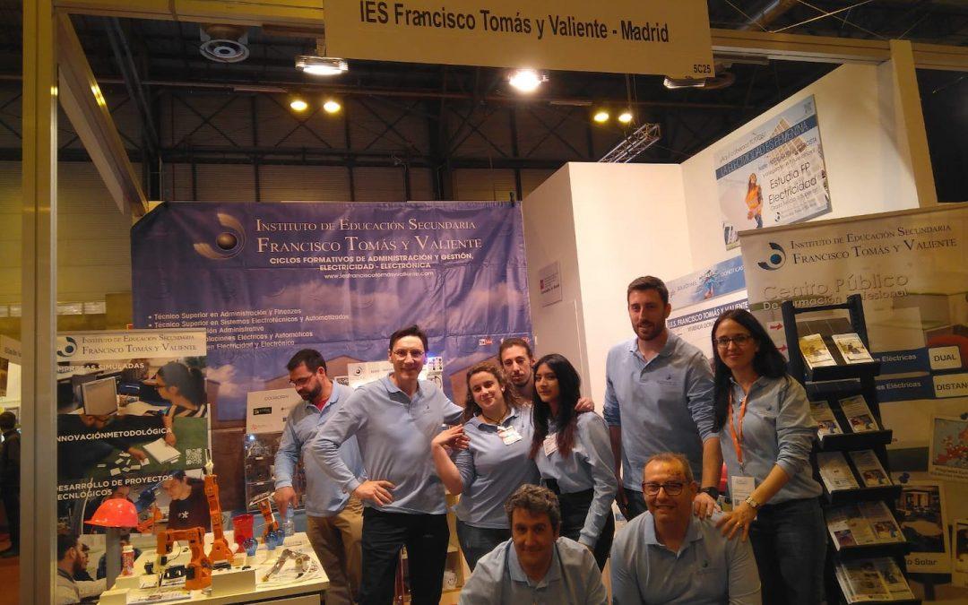 Participación en la Feria de Innovación Madrid 2019